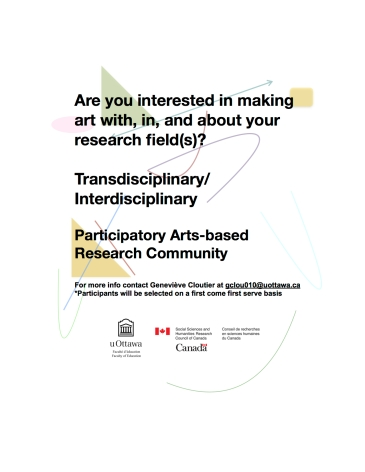 Research & Art (t)here_recruitment text_II