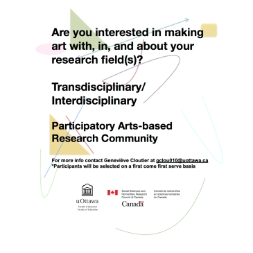Research & Art (t)here_recruitment text_II